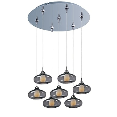 Aurora Lighting Xenon Pendant, Satin Nickel (STL-ETE051473)