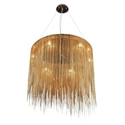 Aurora Lighting Halogen Pendant, Gold (HF1202-G)