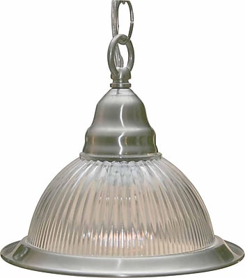 Aurora Lighting Incandescent Pendant, Brushed Nickel (STL-VME018910)