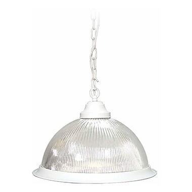 Aurora Lighting Incandescent Pendant, Textured White (STL-VME518403)