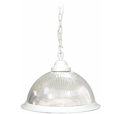 Aurora Lighting Incandescent Pendant, Textured White (STL-VME518403)