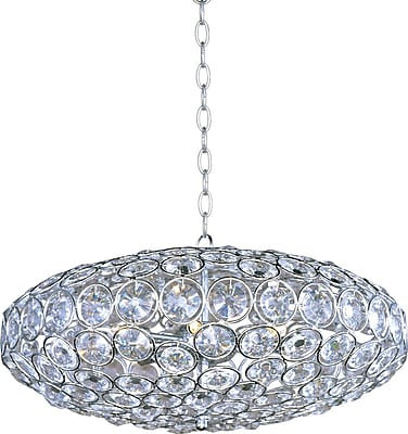 Aurora Lighting Xenon Pendant, Satin Nickel (STL-ETE044031)