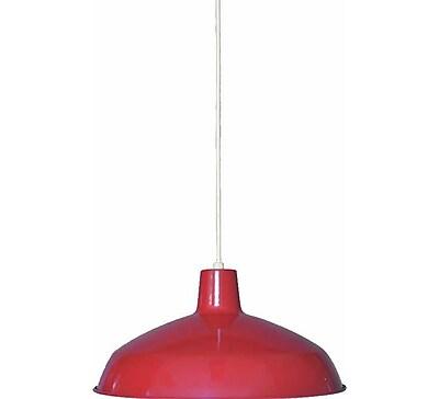 Aurora Lighting Incandescent Pendant, Red (STL-VME918197)