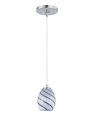 Aurora Lighting Xenon Pendant, Satin Nickel (STL-ETE051169)