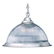 Aurora Lighting Incandescent Pendant, Brushed Nickel (STL-VME318003)
