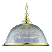 Aurora Lighting Incandescent Pendant, Polished Brass (STL-VME218006)