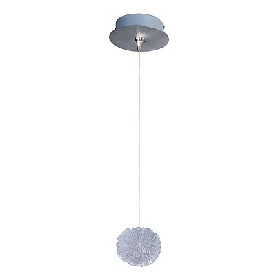 Aurora Lighting Xenon Pendant, Satin Nickel (STL-ETE055709)