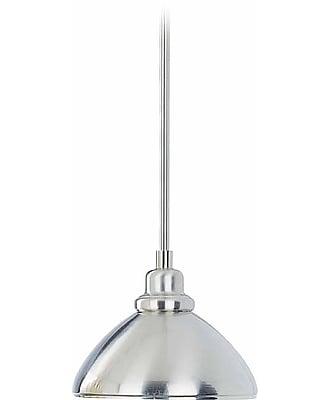 Aurora Lighting Incandescent Pendant, Brushed Nickel (STL-VME318775)