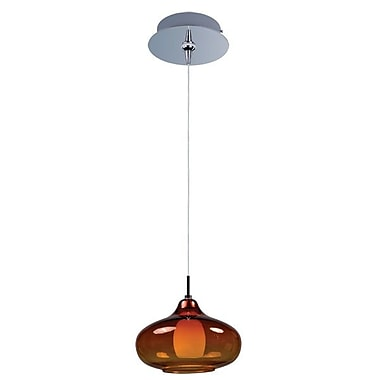 Aurora Lighting Xenon Pendant, Polished Chrome (STL-ETE055921)