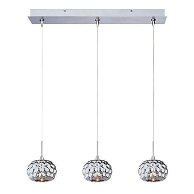 Aurora Lighting Xenon Pendant, Polished Chrome (STL-ETE057475)