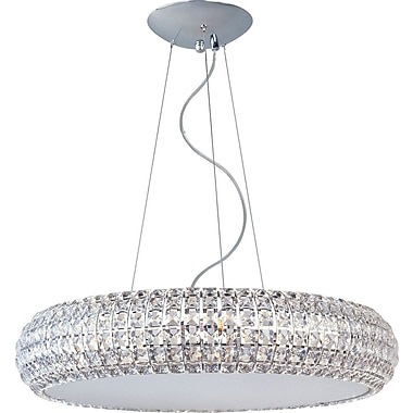 Aurora Lighting Fluorescent Pendant, Satin Nickel (STL-ETE039662)