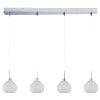 Aurora Lighting Xenon Pendant, Satin Nickel (STL-ETE058298)