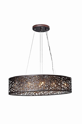 Aurora Lighting Incandescent Pendant, Oil Rubbed Bronze (STL-ETE039006)