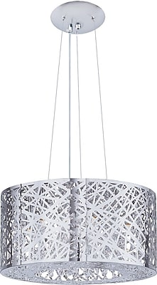 Aurora Lighting Incandescent Pendant, Satin Nickel (STL-ETE038979)