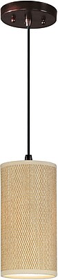 Aurora Lighting Xenon Pendant, Bronze (STL-ETE068662)