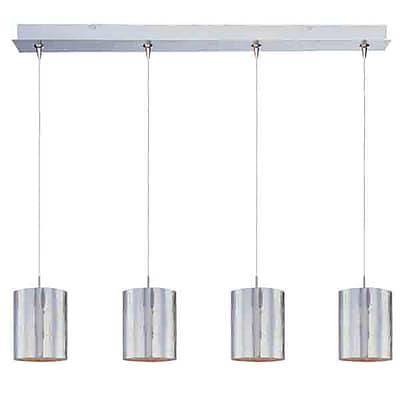 Aurora Lighting Xenon Pendant, Nickel (STL-ETE053842)