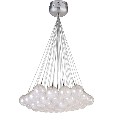 Aurora Lighting Xenon Pendant, Polished Chrome (STL-ETE009979)