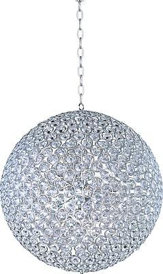Aurora Lighting Xenon Pendant, Satin Nickel (STL-ETE044086)