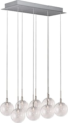 Aurora Lighting Xenon Pendant, Satin Nickel (STL-ETE001775)
