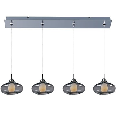 Aurora Lighting Xenon Pendant, Nickel (STL-ETE054191)