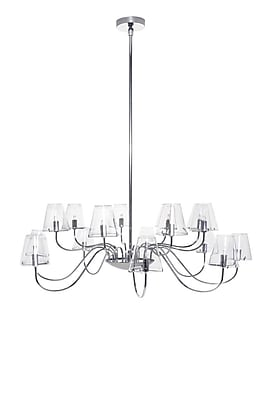 Aurora Lighting Xenon Pendant, Polished Chrome (STL-ETE015994)
