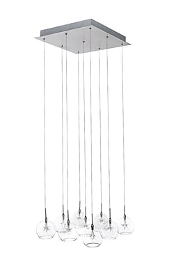 Aurora Lighting Xenon Pendant, Satin Nickel (STL-ETE001560)