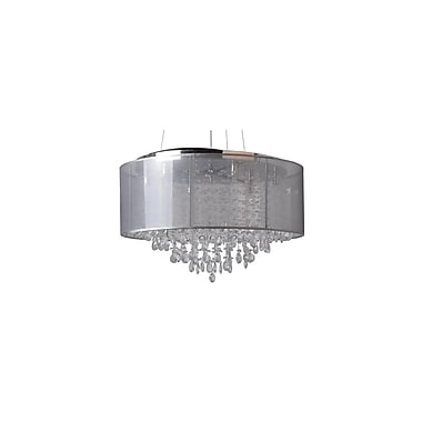 Aurora Lighting Halogen Pendant, Silver (HF1505-SLV)