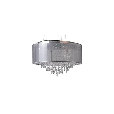 Aurora Lighting Halogen Pendant, Silver (HF1505-SLV)