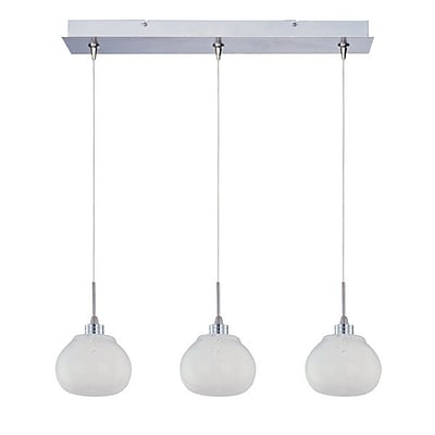Aurora Lighting Xenon Pendant, Polished Chrome (STL-ETE057338)
