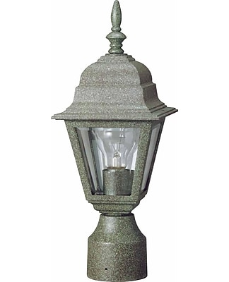 Aurora Lighting A19 Outdoor Post Mount Lamp (STL-VME498323)