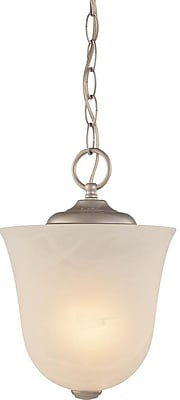 Aurora Lighting Incandescent Semi-Flush, Nickel (STL-VME650707)