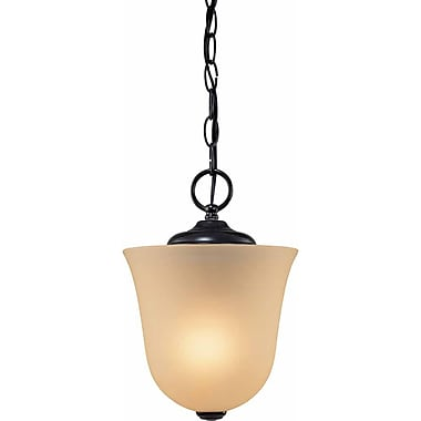 Aurora Lighting Incandescent Semi-Flush, Antique Bronze (STL-VME950609)