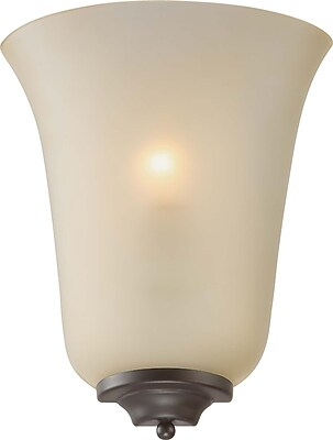 Aurora Lighting A19 Wall Sconce Lamp, Antique Bronze(STL-VME967133)