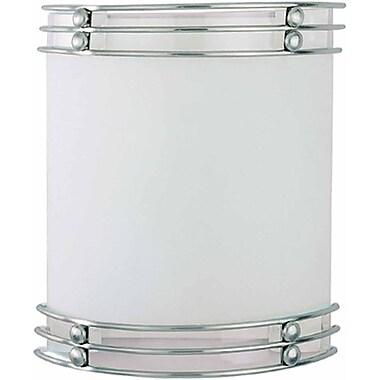 Aurora Lighting A19 Wall Sconce Lamp, Brushed Nickel(STL-VME373620)
