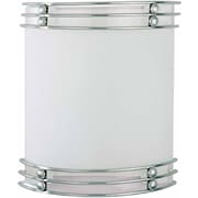 Aurora Lighting A19 Wall Sconce Lamp, Brushed Nickel(STL-VME373620)