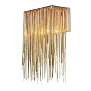 Aurora Lighting B10 Wall Sconce Lamp, Gold(HF1200-G)