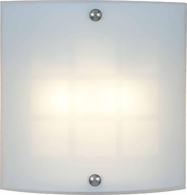 Aurora Lighting Quad Tube Wall Sconce Lamp, Brushed Nickel(STL-VME366240)