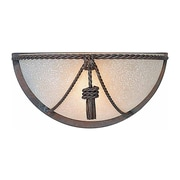 Aurora Lighting A19 Wall Sconce Lamp, Prairie Rock(STL-VME276099)