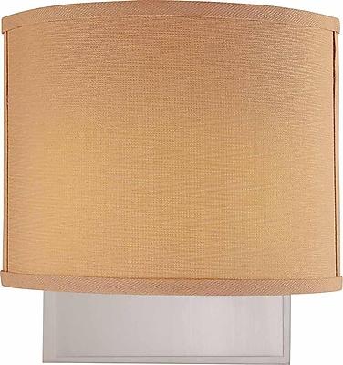 Aurora Lighting Quad Tube Wall Sconce Lamp, Brushed Nickel(STL-VME363225)