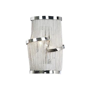 Aurora Lighting B10 Wall Sconce Lamp, Chrome(HF1404-CH)