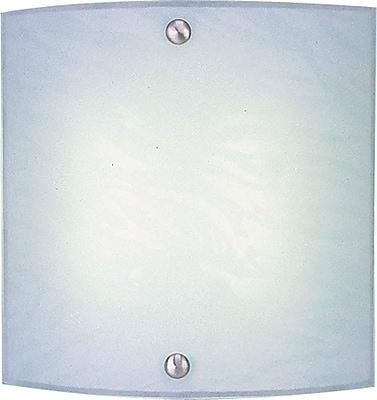 Aurora Lighting Quad Tube Wall Sconce Lamp, Brushed Nickel(STL-VME366257)