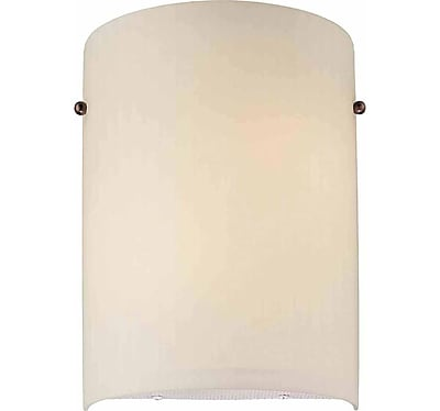 Aurora Lighting A19 Wall Sconce Lamp, Florence Bronze(STL-VME760475)