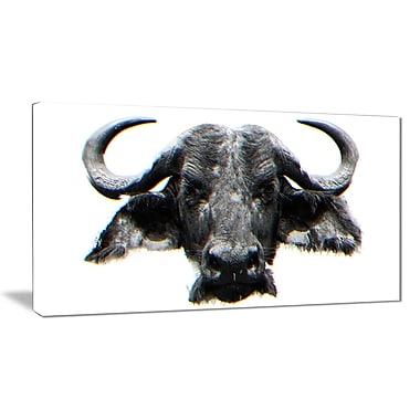 Designart – Stare of the Bull, impression sur toile, 5 panneaux (PT2309-32-16)
