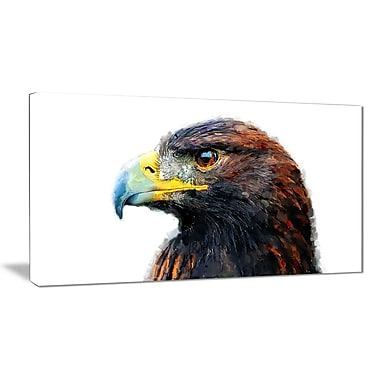 Designart Golden Eagle Canvas Art Print, 5 Panels, (PT2311-32-16)