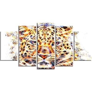 Designart – Grande illustration animale sur toile, félin ravissant (PT2357-373)