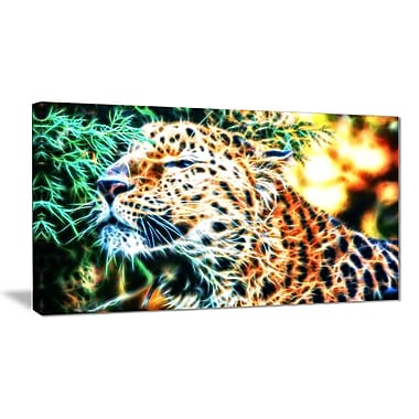 Designart Beautiful Cheetah Animal Canvas Art, Multiple Sizes, (PT2415-32-16)