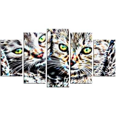 Designart – Châtons affectueux, impression sur toile d'animal, tailles variées (PT2452-373)
