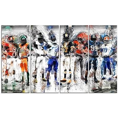 Designart – Impression sur toile, équipe de football (PT2505-271)