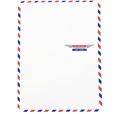 JAM Paper® Airmail 9 x 12 Open End Catalog Envelopes, 50/Pack