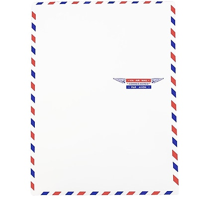 JAM Paper® Airmail 9 x 12 Open End Catalog Envelopes, 25/pack (1430744)